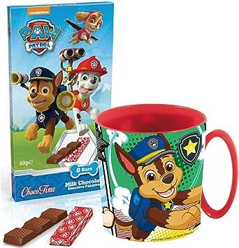 JT Paw Patrol Set de Regalo - Taza de Cacao: Amazon.es: Juguetes y juegos