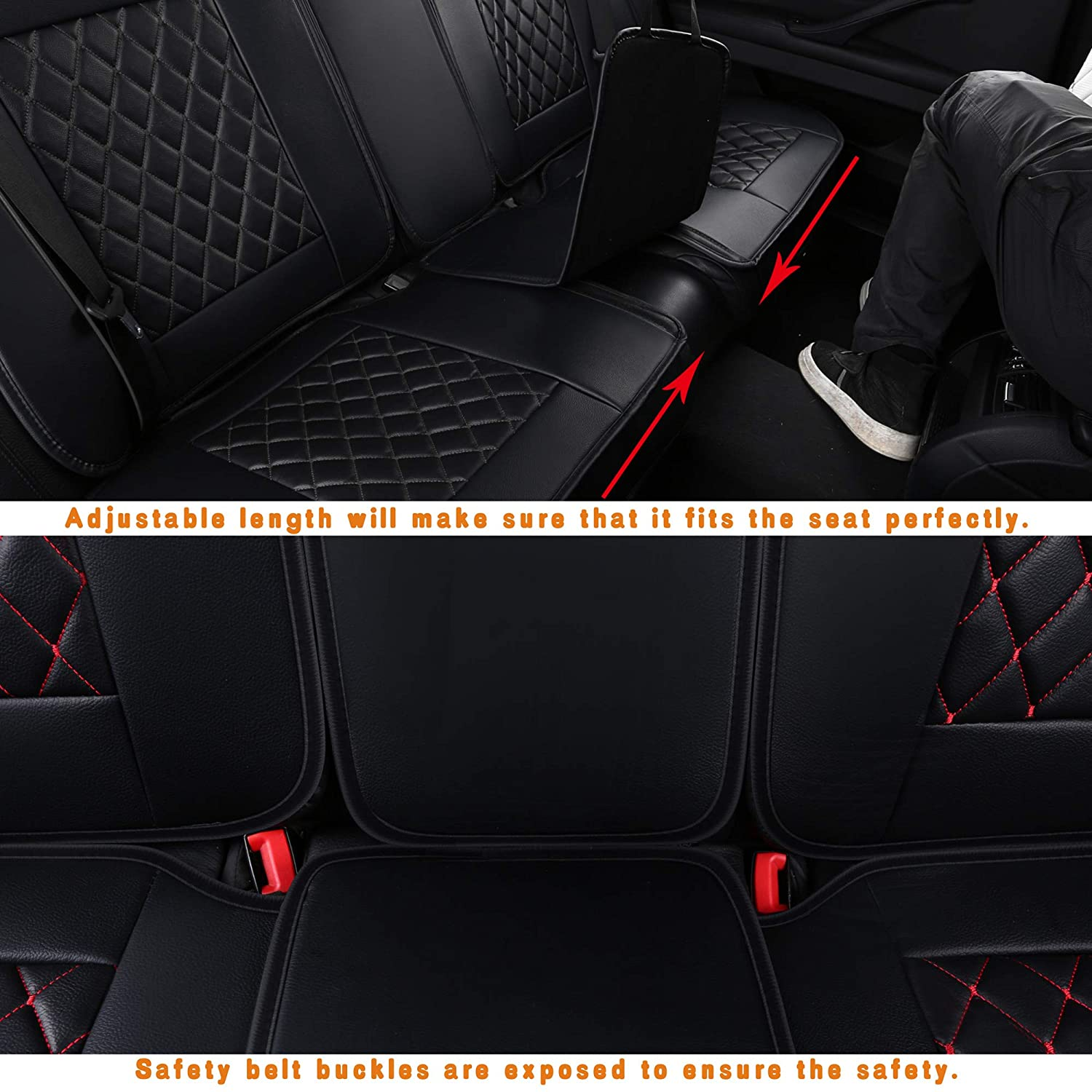 Nicely Fit for Toyota Corolla Camry Tacoma RAV4 LUCKYMAN CLUB Car Seat Covers Fit Most Sedan SUV Truck Easy to Install