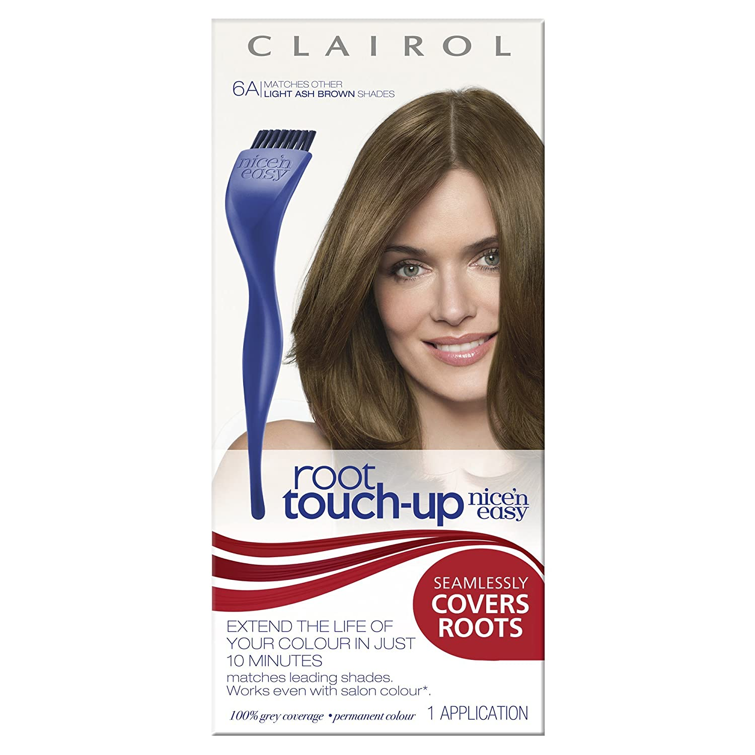 Clairol Root Touch Up Permanent Hair Dye 6a Light Ash Brown Amazon