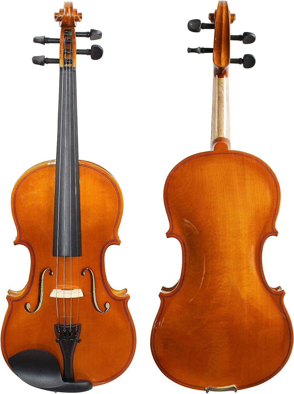 Mute Pinkinest Violin Hanger Electronic Tuner Full Size Natural Rosin Extra Strings Polish Cloth YMC VL-NR 4//4 Violin Starter Kit with Hard Case Shoulder Rest Bow