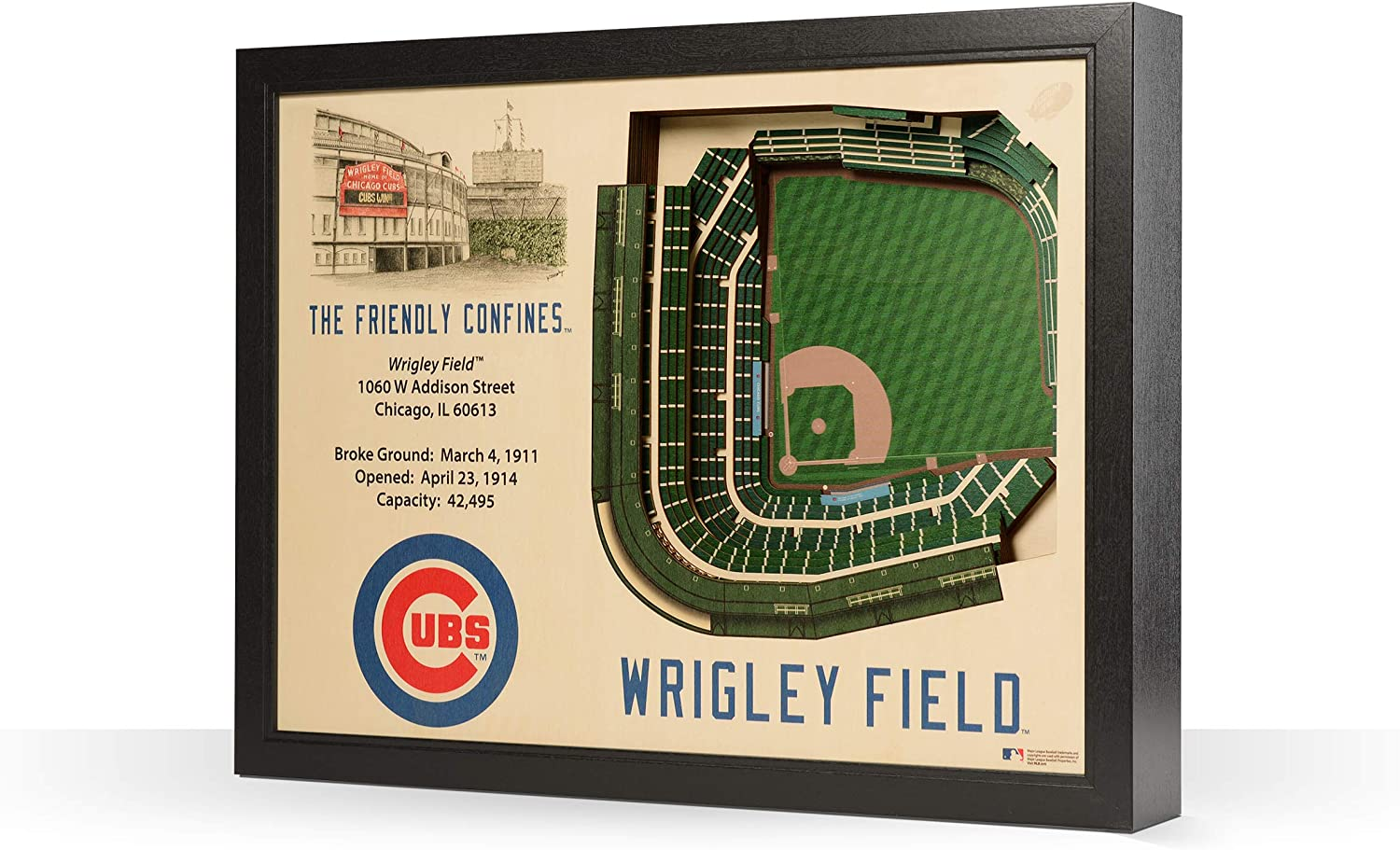 Wrigley Field One Size Northwest Chicago Cubs Wrigley Field Tapestry