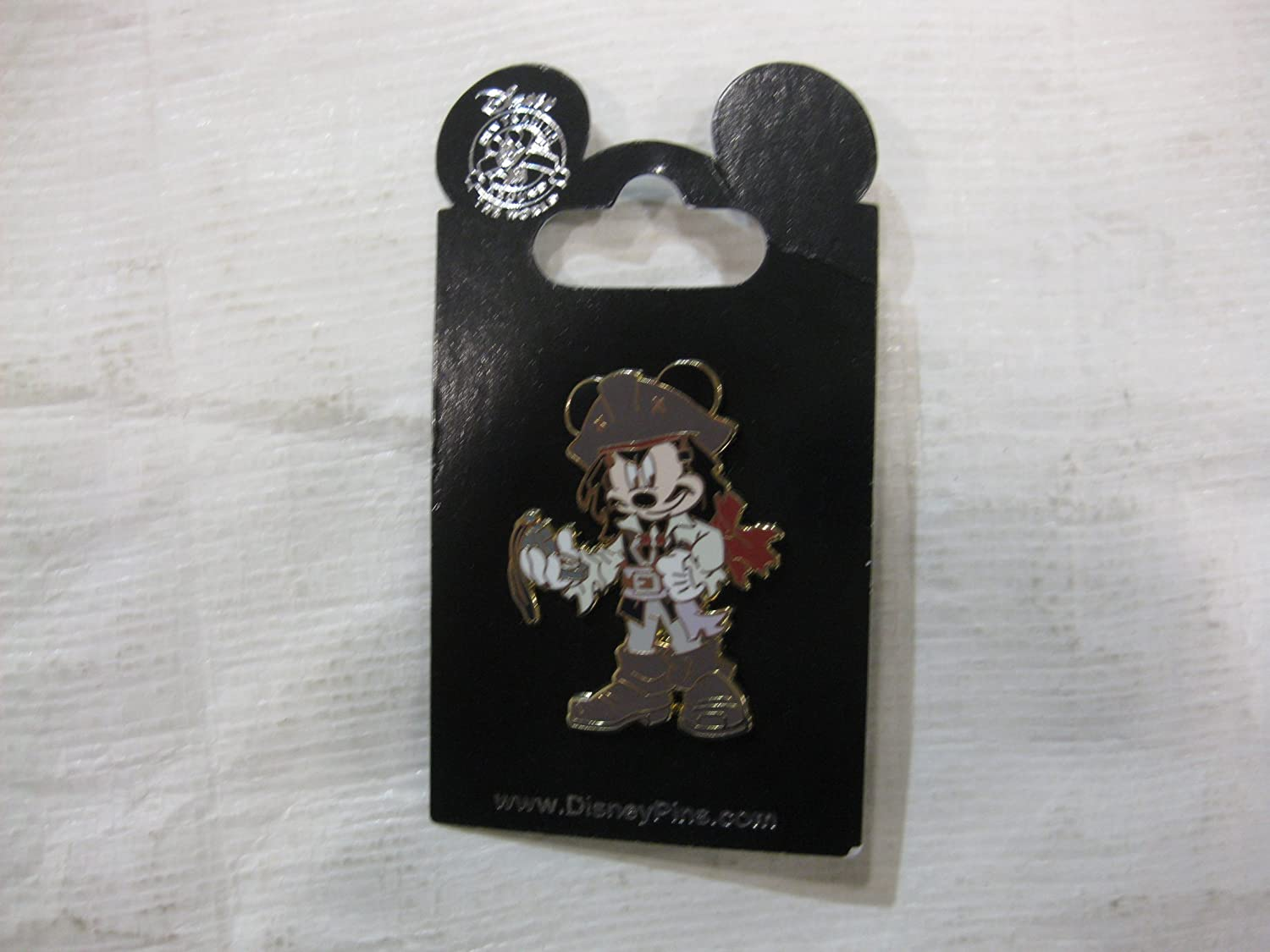 Mickey Mouse as Jack Sparrow Pin Pirates of the Caribbean
