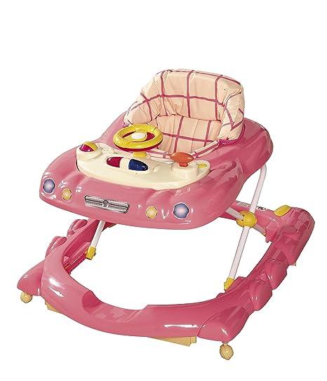 Tippitoes - Andador para bebé (rosa/crema): Amazon.es: Bebé