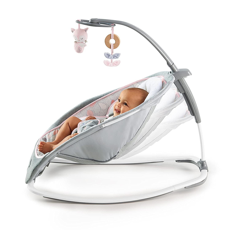 Ingenuity Baby Rocker Arabella Musical Bouncer Swing Chair Seat Cradle K11315 11315-3