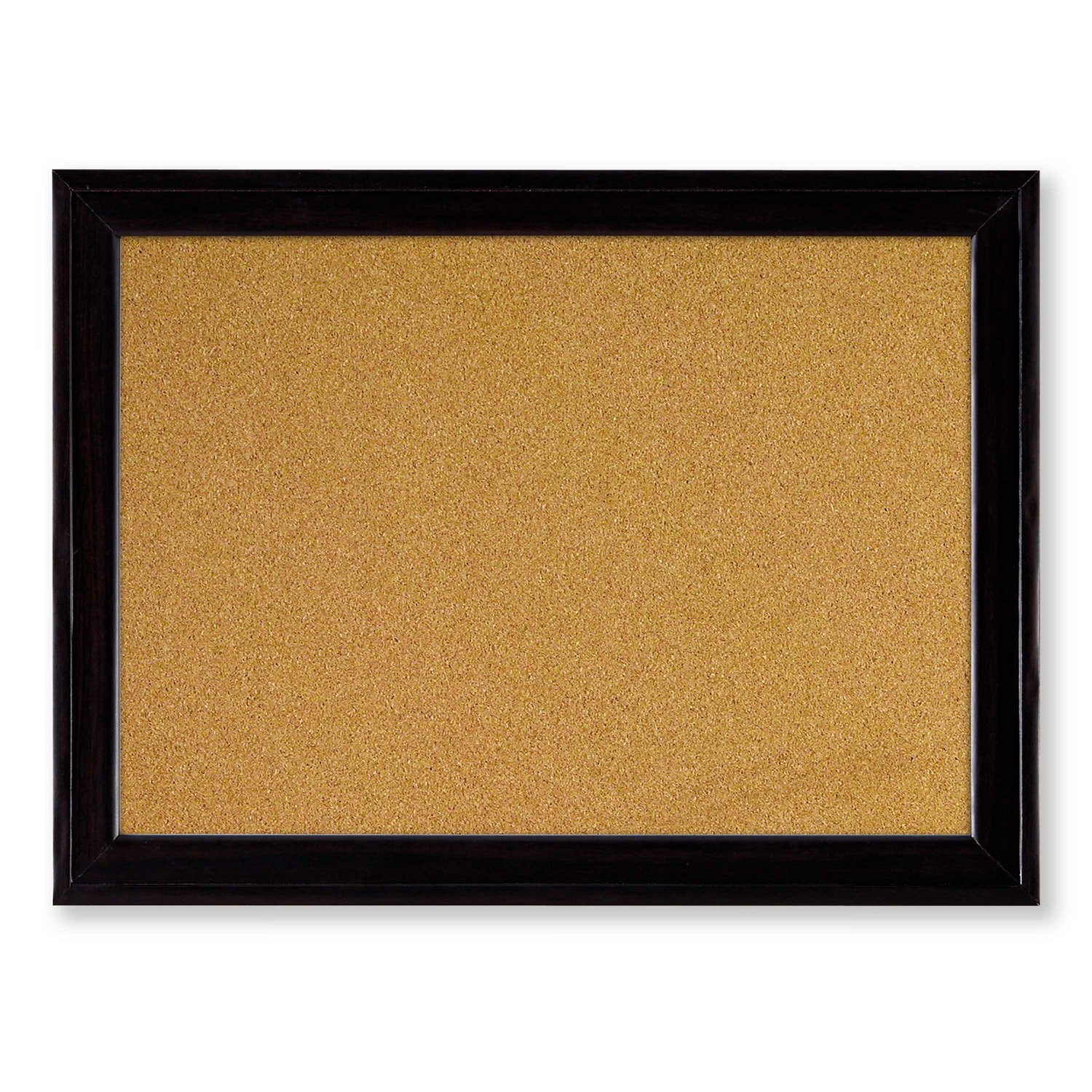 Nobo Quartet Cork Board with Sleek Black Wooden Frame, 585 x 430 mm:  Amazon.co.uk: Office Products