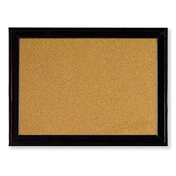 Rexel Tablero corcho marco de madera negro 585x430mm - tablones de ...