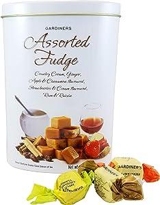 Gardiners of Scotland Assorted Fudge Tin, 10.7-Ounce