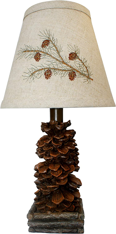 AHS Lighting L1562-UP1 Pinecone Accent Lamp, 7