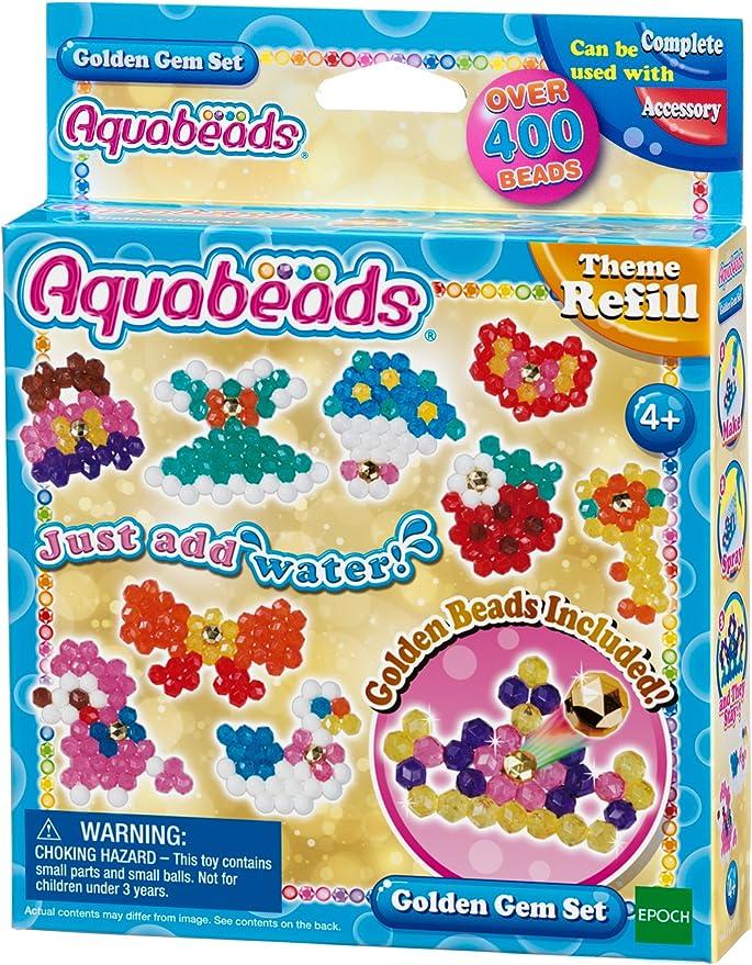 Aquabeads - 31048 - Set de Joyas Doradas: Amazon.es: Juguetes y juegos