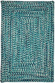 product image for Catalina Rugs, 8' x 8' Square, Blue Lagoon