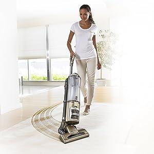 Shark Navigator DLX Upright Vacuum in Gold/Silver