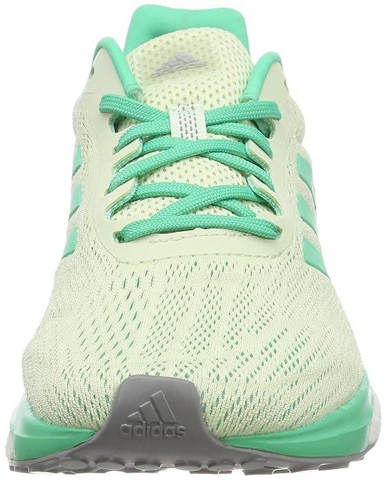 adidas Response W, Scarpe da Running Donna, Multicolore (Semi Frozen Yellow F15/Hi-Res Green S18/Grey Three F17), 41 1/3 EU