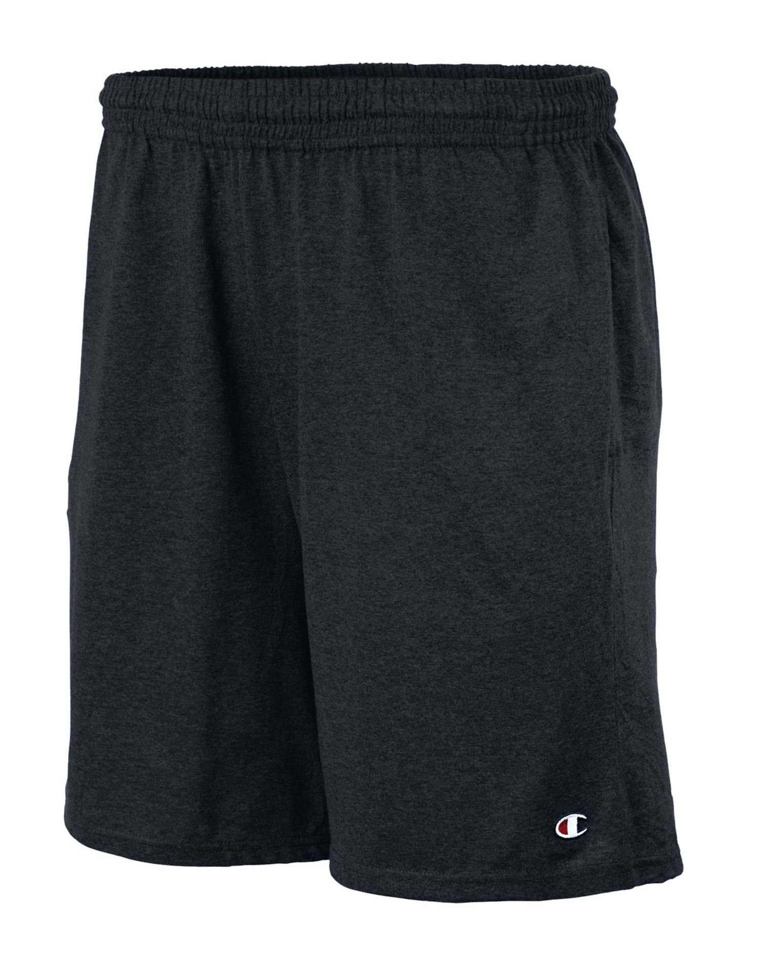 Champion Men's Jersey Short with Pockets, Maroon, Large by Champion (Image #2)