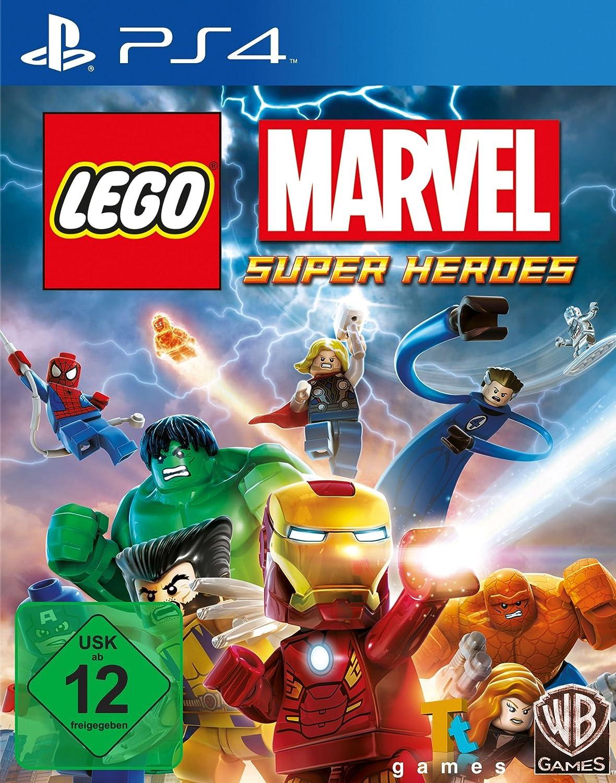 Warner Bros LEGO Marvel Super Heroes, PS4 - Juego (PS4 ...