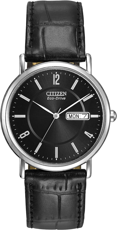 Citizen Watches BM8240-03E Eco-Drive Leather Watch