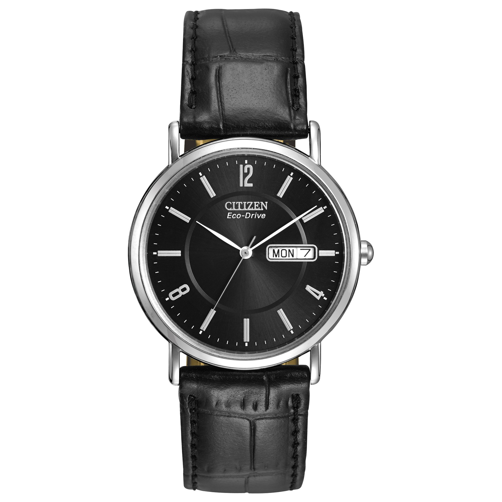 Watches BM8240-03E Eco-Drive Leather Watch