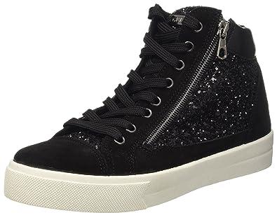 Guess GRACE Sneakers alte Donna schwarz catalogo