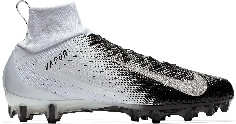 NIKE Vapor Untouchable Pro 3 Mens Football Cleats B07CM9MHSG 9 D(M) US|White/Silver/Black