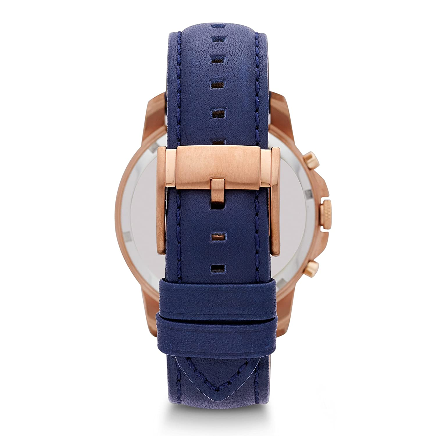 johnlewis s navy main leather men watch strap watches fossil chronograph online buyfossil pdp grant at rsp