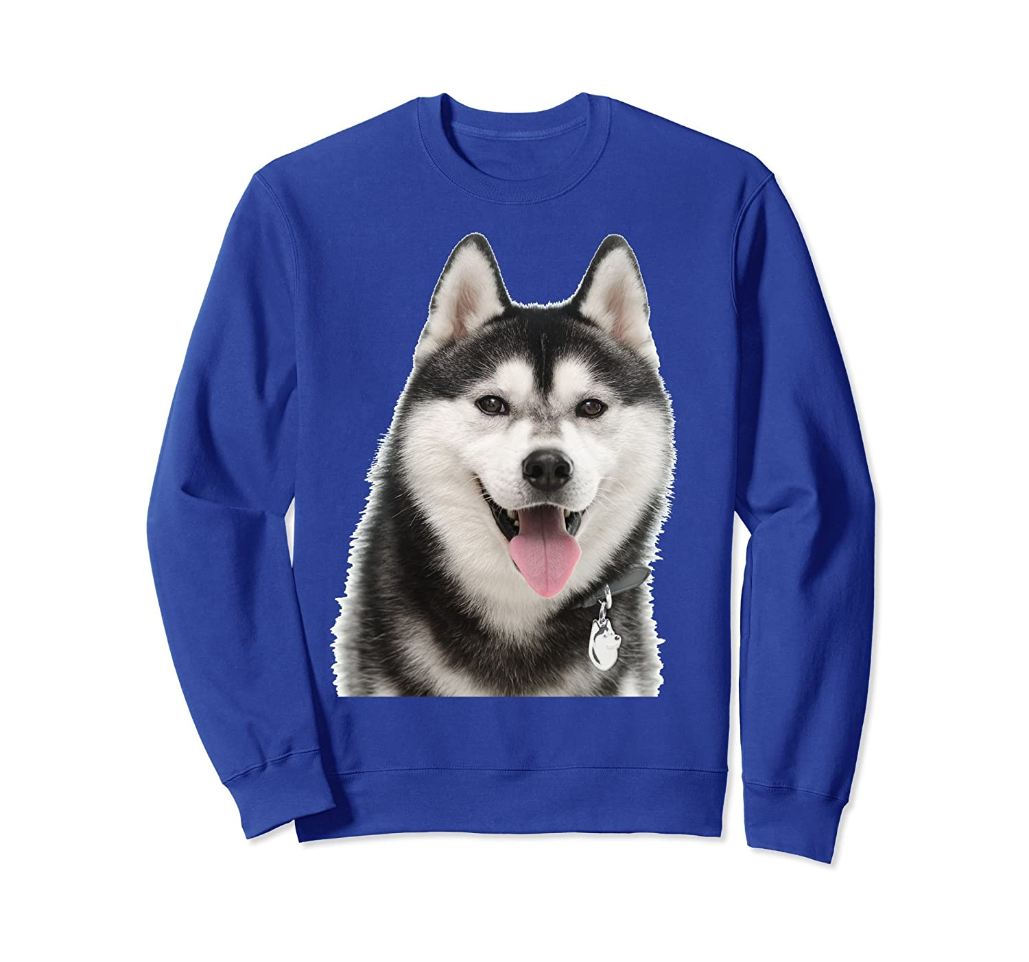 I LOVE MY Siberian Husky Sweatshir Gift for Men Women & Kids-AZP