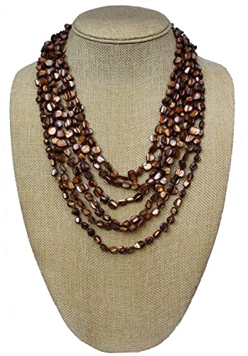 strand necklace product blue multi rising international