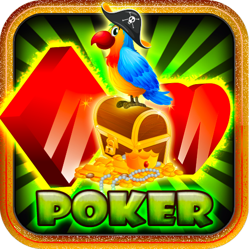 Pirate Jackpot Poker Free Game Paragon Chest Value Classic Poker Game Free for Kindle Fire 2015 Casino Jackpot Vegas Best Poker Free App for Kindle Phone Tablets Mobile Casino Poker Cards (Best Poker App Android Tablet)