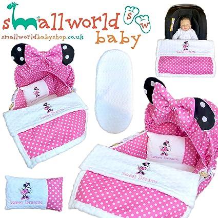 Funda para cesta personalizada, 5 piezas, para ropa de cama, para asiento de