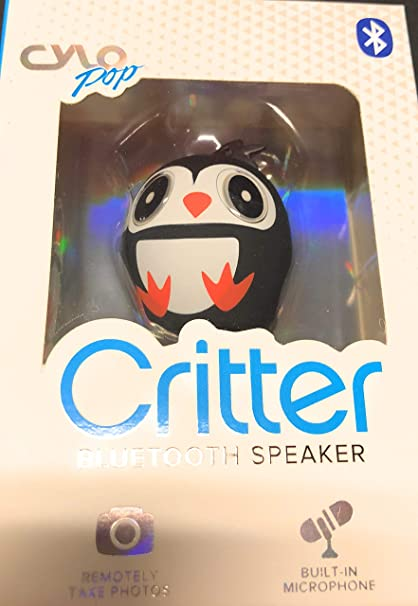Amazon.com: CYLO Critter Wireless Portable Speaker, Keychain ...
