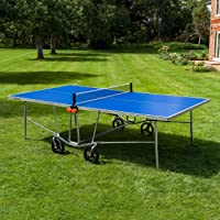 Vermont TS100 Outdoor Ping Pong Table – Portable Design | Foldable Multi-Surface Table Tennis