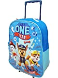 "Children Kids Boys Paw Patrol Marshall Rubble Chase Travel Outdoor Fun School Trolley Bag (Paw Patrol""Rud Ruf Rescue"")"