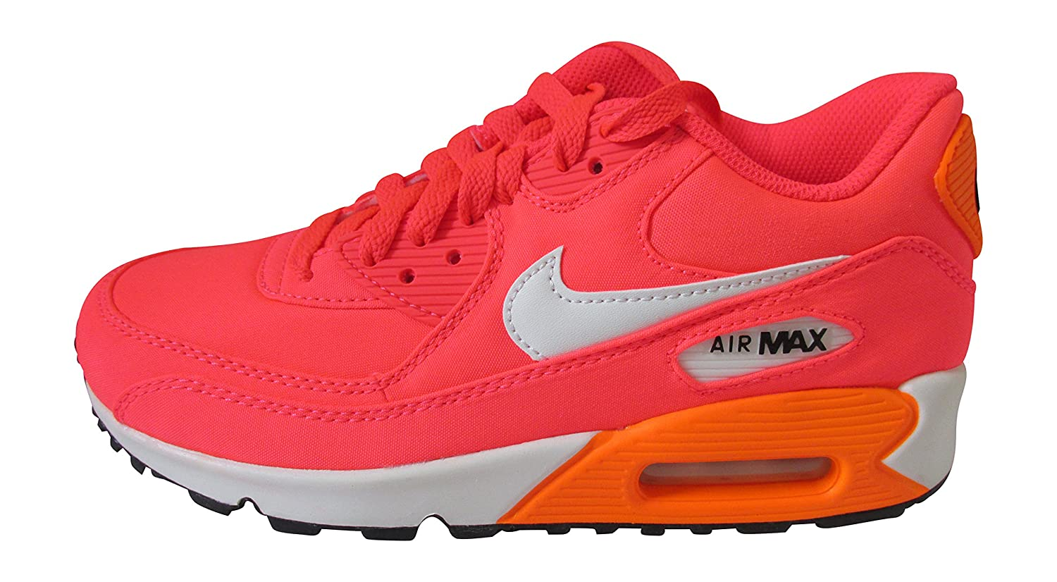Nike air max 90 Premium QS GS Trainers 693628 Sneakers Shoes