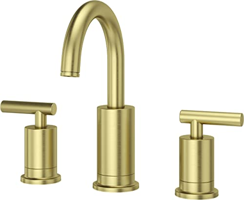 Pfister LG49NC1BG Contempra Widespread Bathroom Faucet 8 , Brushed Gold