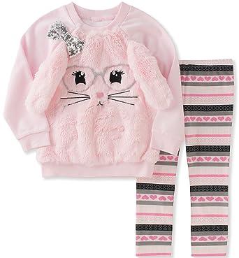 b6a82e02f Amazon.com  Kids Headquarters Girls  Tunic Legging Set  Clothing