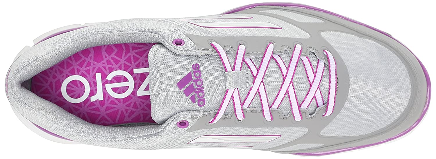 adidas Women's W Adizero Sport III Golf Shoe B00NVSAKYE 7.5 B(M) US|Clear Onix/Running White/Flash Pink