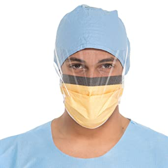 Fluidshield Mask 48237 Fog-free Surgical Kimberly-clark Face