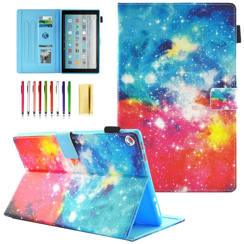予約販売 UUcovers Amazon - Fire HD B07KZW9BRH 10タブレット用ケース (第7世代 2017年発売) - 超薄型スマートスタンドケース Beautiful 自動ウェイク/スリープ機能付き Fire HD 10.1インチタブレット用 # Beautiful Galaxy B07KZW9BRH, こたえる堂:3ae12ffc --- a0267596.xsph.ru