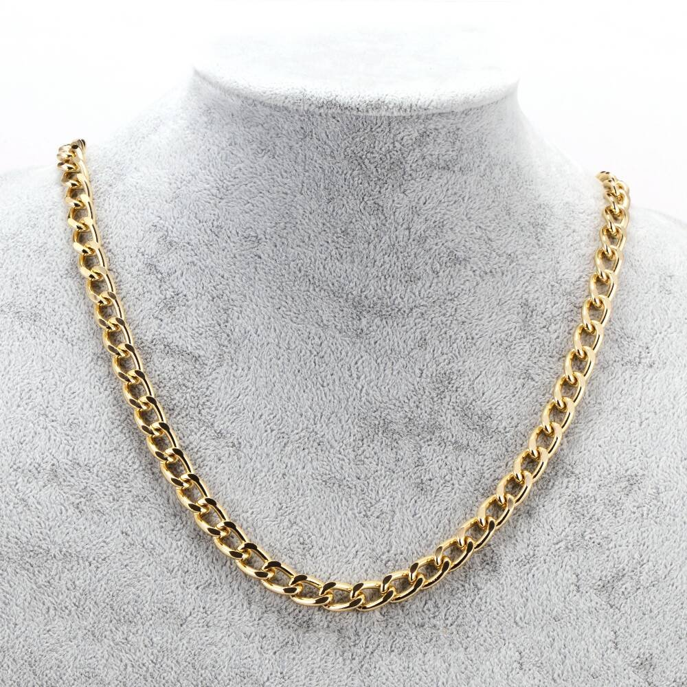 PARTY DISCOUNT Kette Rapper, gold