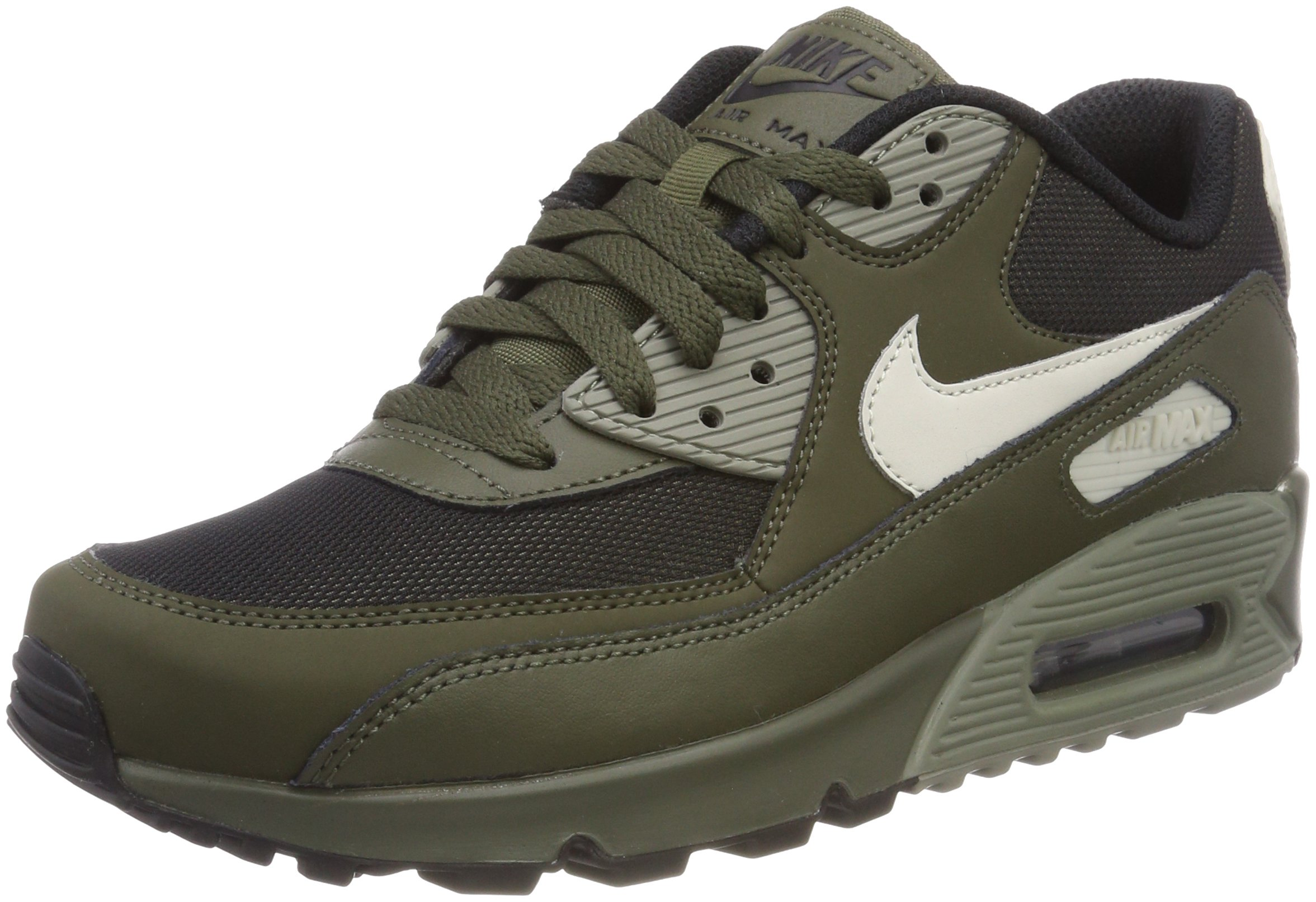 watch 6456f 36f3a Galleon - Nike Men''s Air Max 90 Essential Low-Top Sneakers, Green (Cargo  Khaki/Light Bone-Dark Stucco-Black 309), 6 UK