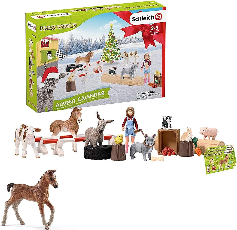 Neuheit 2018 Blitzversand DHL-Paket Schleich® Horse Club 97780 Adventskalender