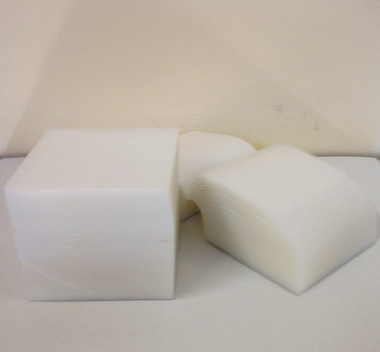 A&A Export Inc 4x4 Clear Plastic Furniture Carpet Tabs - 1,000 cts