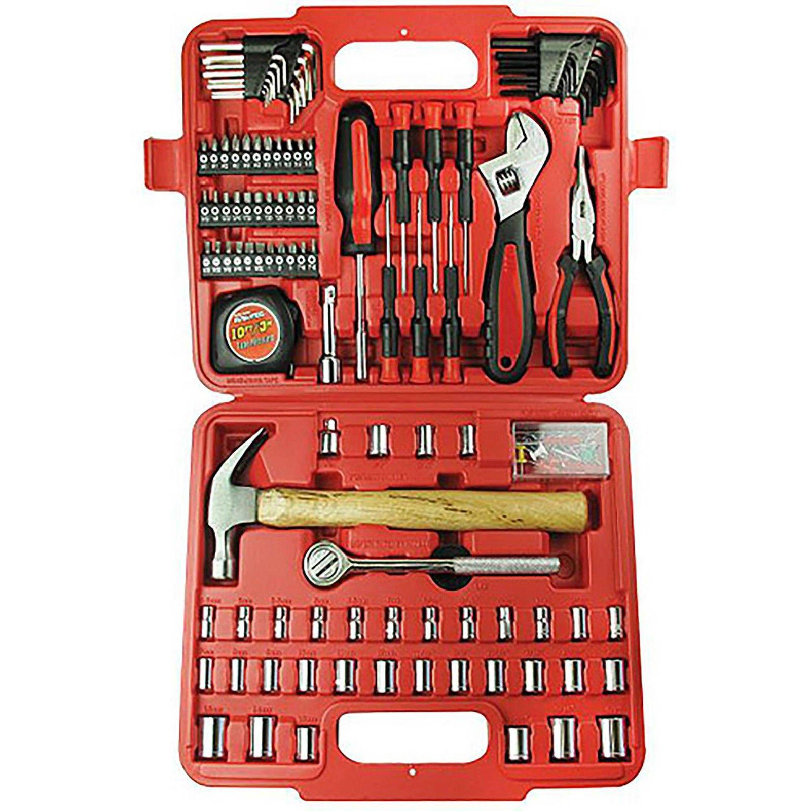 Ultra Steel 110-Piece Home Repair Tool Set
