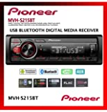 Pioneer Single Din Built-In Bluetooth, MIXTRAX, USB, Auxiliary, Pandora, Spotify, iPhone, Android and Smart Sync App…