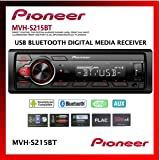 Pioneer Single Din Built-In Bluetooth, MIXTRAX, USB, Auxiliary, Pandora, Spotify, iPhone, Android and Smart Sync App Compatib