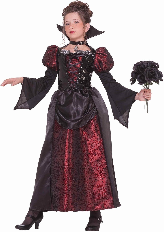 Forever Young Disfraz de Vampiro para niñas, Disfraz de Halloween para niños