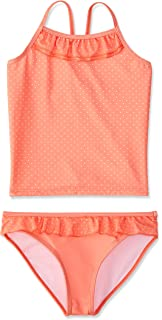 RED WAGON Girls Striped Tankini Set