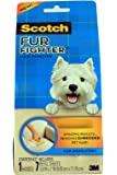 Scotch-Brite FurFighter Hair Remover Kit, 1 Handle with 5 Refill Sheets