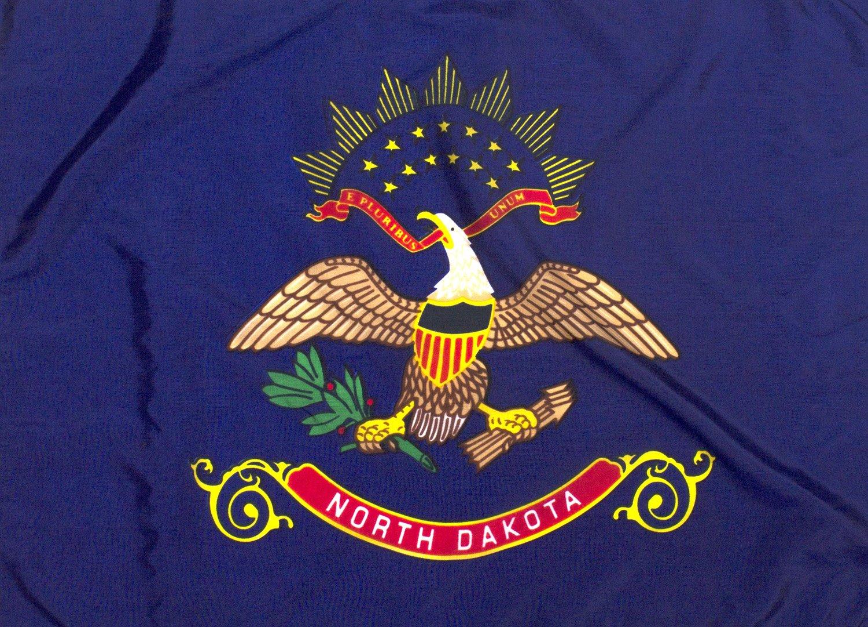 5x8ft North Dakota Flag - Highest Quality Outdoor Nylon