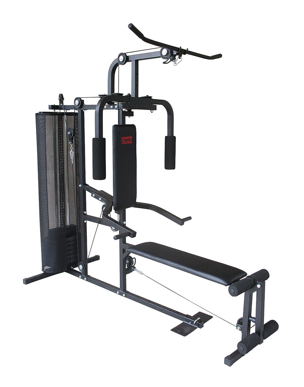 Motive Erwachsene Hercules Multi-Gym, Schwarz-Grau, m