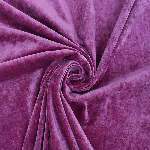 Rosa Rosa Boutique picado de terciopelo felpa suave lujo ...