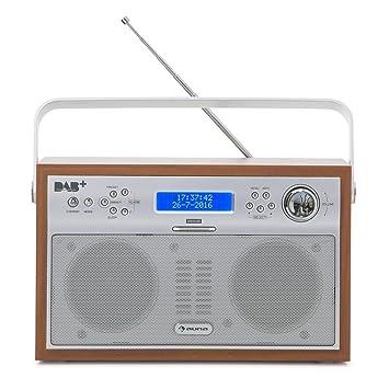 auna Akkord Brown Edition - Radio Digital portátil ...